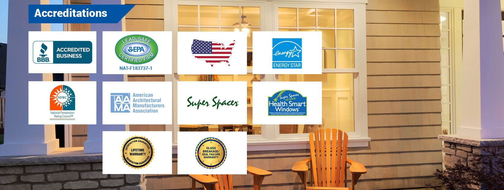 Window Town Accreditations