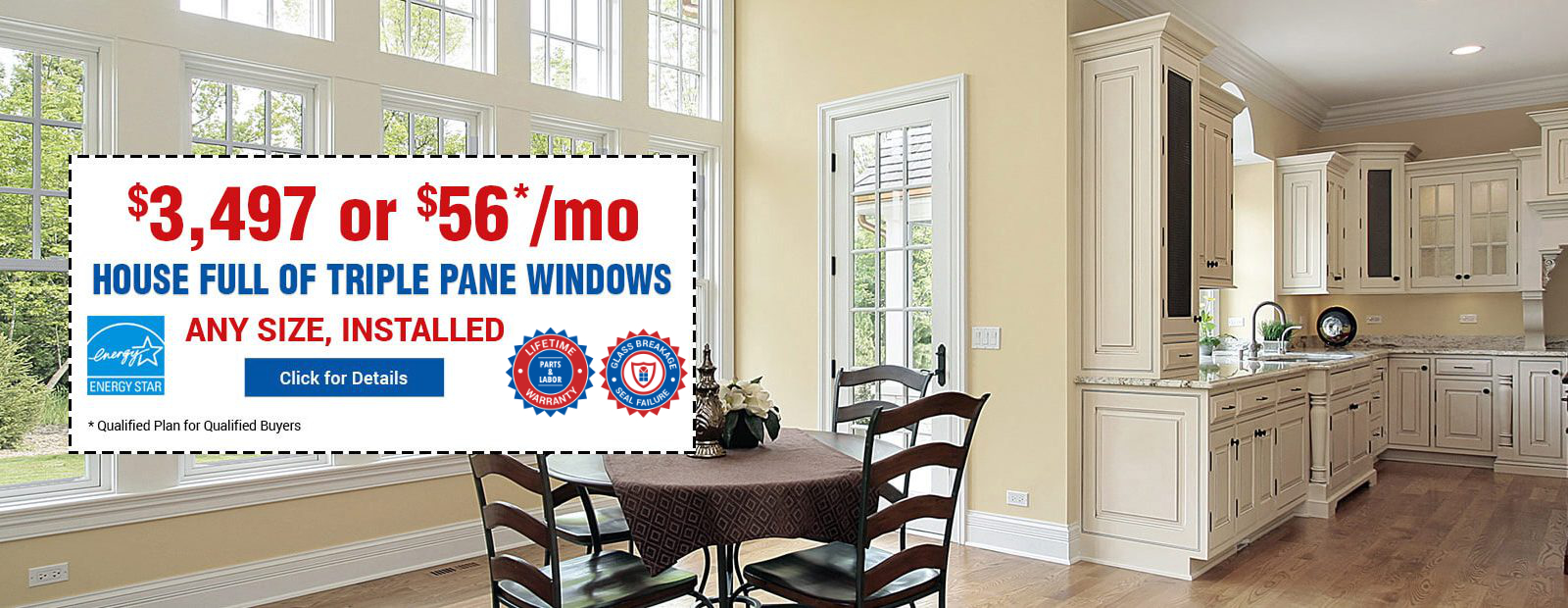 Replacement Windows at $198